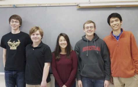 Math challenge team receives national recognition