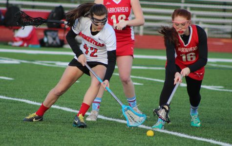 Girls lacrosse comes out victorious in first game of the season