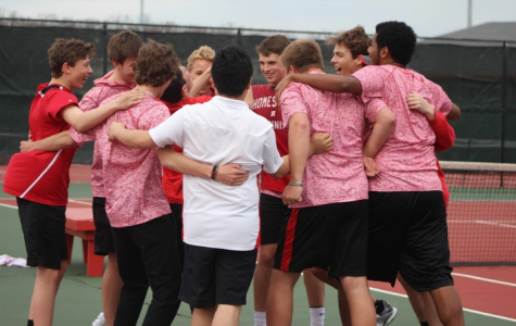 Photo gallery- Varsity boys tennis start off conference against Grafton