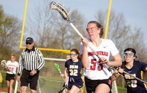 Girls lacrosse overtakes USM