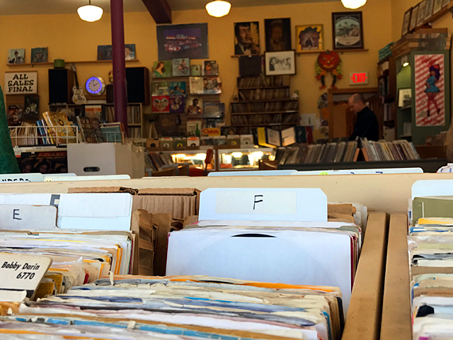 A wide variety of records are available at Star Records.
