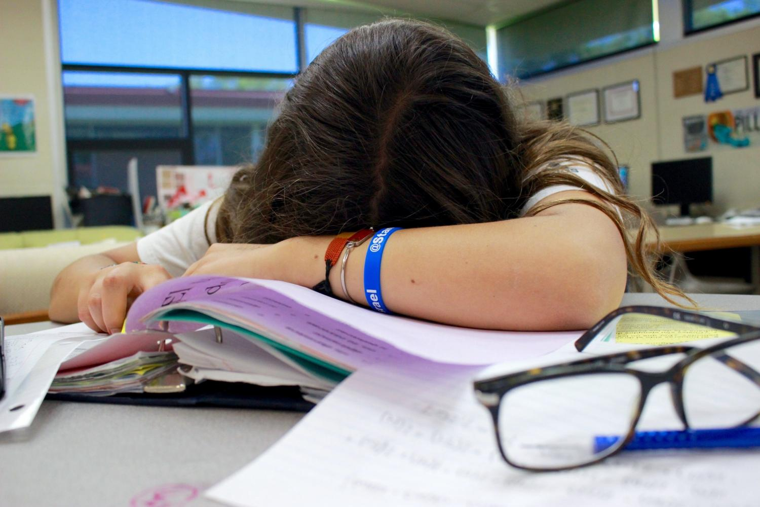 Sleep deprivation is most common in teens and can affect school performance.