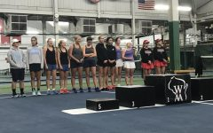 Varsity girls tennis players have a successful showing at the individual state tournament