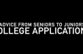 Seniors offer college application advice