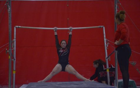 Gymnasts adjust to practice relocation