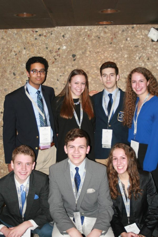 Homestead DECA members compete at State Career Development Conference in Lake Geneva.