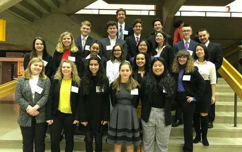 Homestead attends the Model United Nations conference at UWM