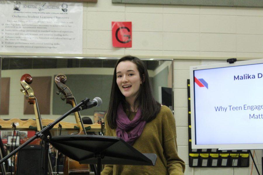 Malika Dakawa, freshman