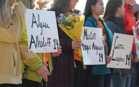 Students participate in national walkout