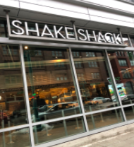 Pictured is the outside the new burger restaurant Shake Shack in the Historic Third Ward.