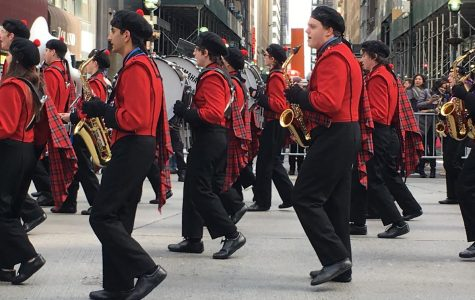 Band marches through the East Coast for spring break