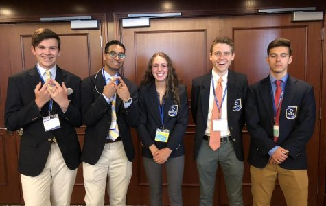 DECA competes at International Conference in Atlanta