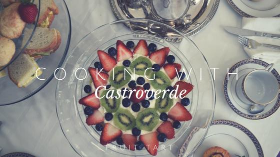 Alex Castroverde, junior made an attractive fruit tart