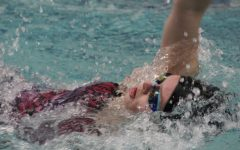 Girls varsity swim ends season at state