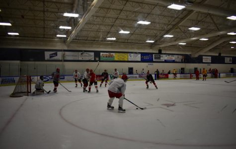Homestead boys hockey prepares for the second half of their season