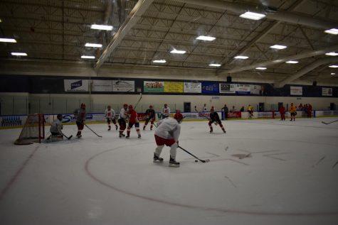 Homestead boys hockey prepares for the second half of their season