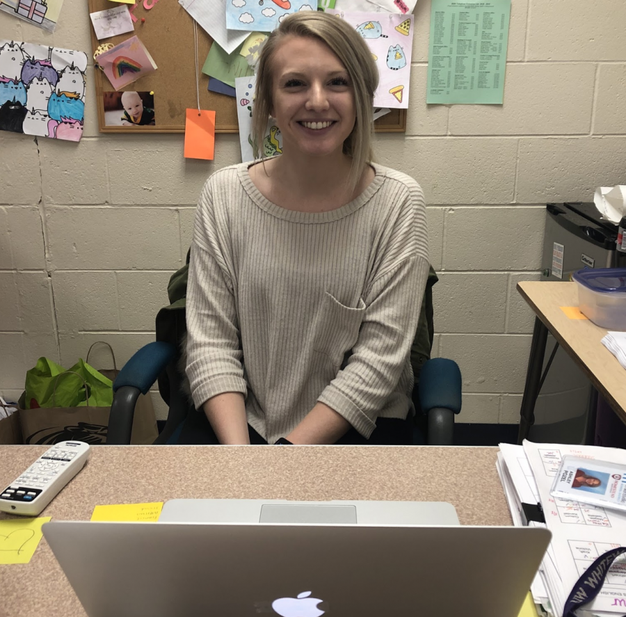 Ms. Ashley Pozel has so far felt extremely welcomed by the staff and students at Homestead, and calls her move to Homestead an