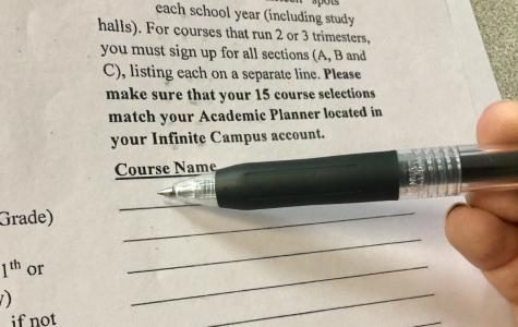 Course registration draws closer, students prepare