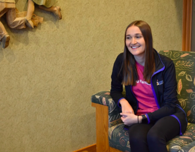 Kiley Erlandson reminisces on her time at Homestead and how that led to her position at the Ronald McDonald House.