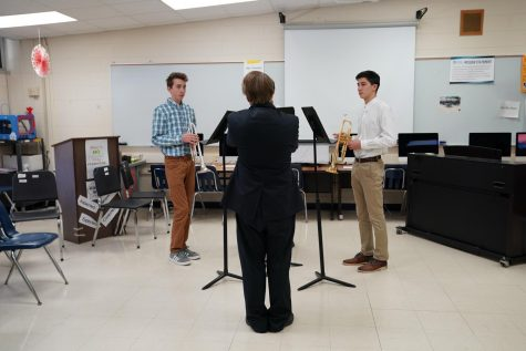 Students perform at solo ensemble