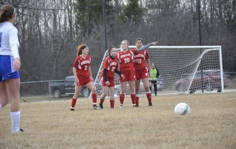 Successful start for girls soccer