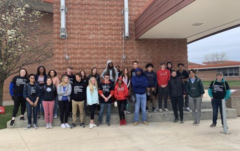 Homestead students take on WE Day Illinois