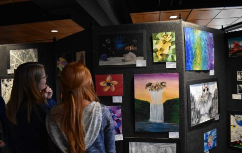 Gallery Night let artists shine