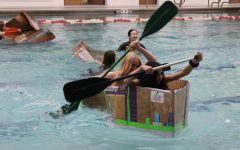 GEMS makes a splash at cardboard boat races