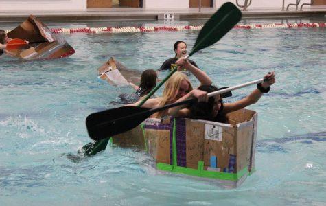 GEMS makes a splash at cardboard boat races