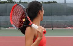Girls varsity tennis takes part in a successful weekend