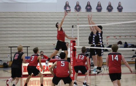 Senior night for boys volleyball