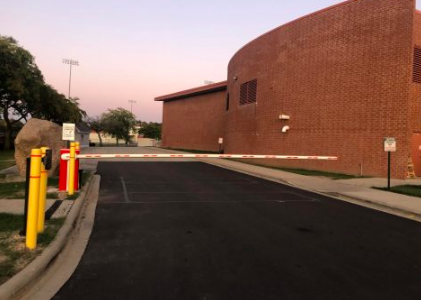New gate part of school security measures