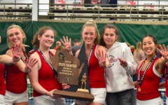 Girls tennis clinches state title, bittersweet victory for seven-senior team