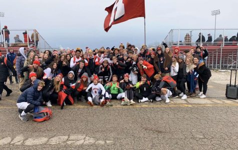 The boys soccer team had a large student section to show support during their 1:45 game on Friday.
