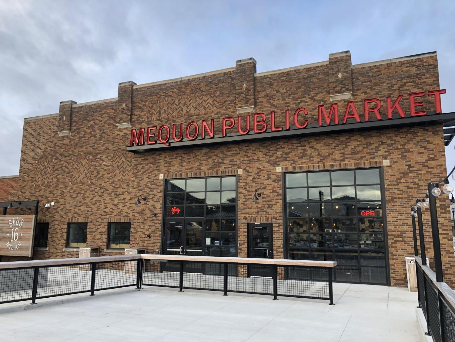 The Mequon Public Market at Spur 16 has been open since late June 2019.
