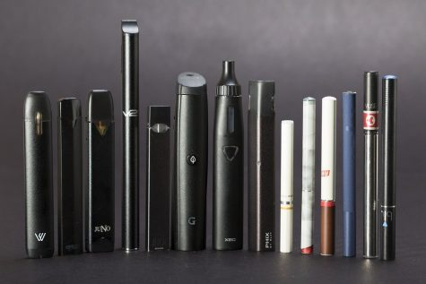 E-cigarettes come in a large variety of different forms and flavors.  Image link: https://www.flickr.com/photos/157551927@N08/42290944640  Link to: https://www.blacknote.com/blog