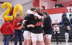 Girls basketball honors seniors