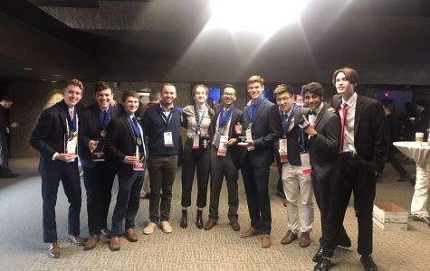 DECA students compete at state career development conference