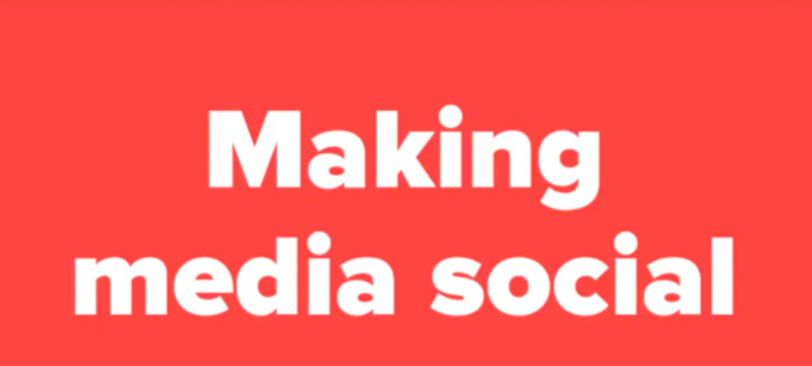 Making media social during pandemic