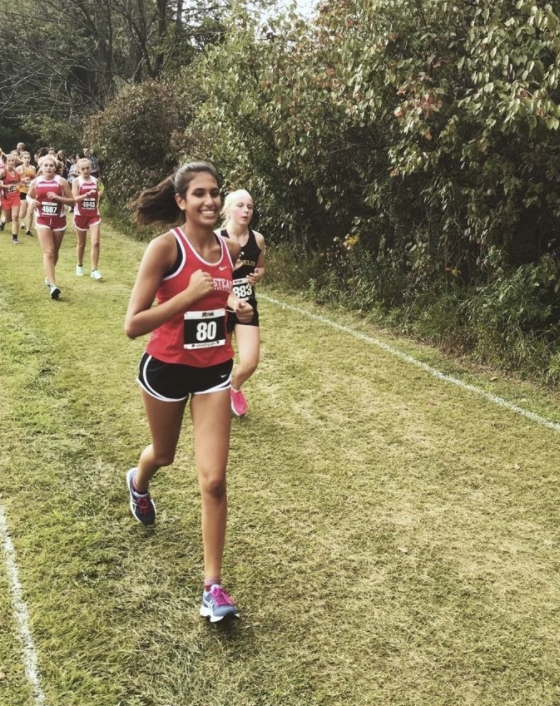 Olivia Patel shares what her biggest fears in regards to sports and life.