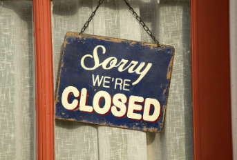 Businesses close their doors and furlough employees due to the coronavirus.