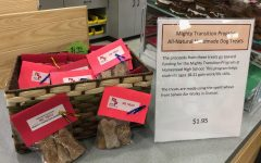 HMTP dog treats for sale at the Feedbag Pet Supply in Mequon.