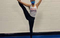 Jadelyn Burris, senior, reflects on her dance journey .