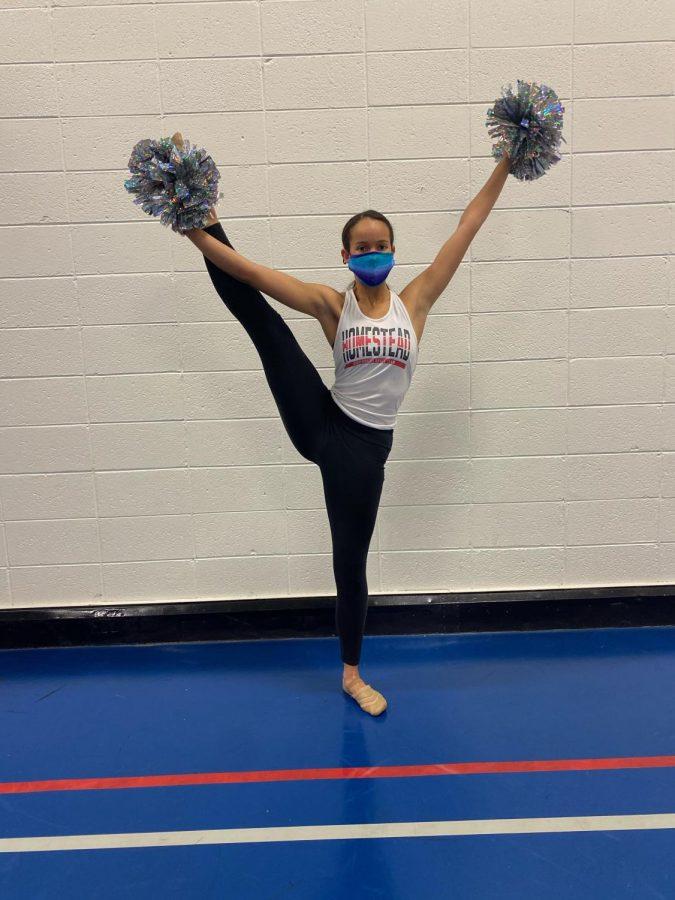Jadelyn Burris, senior, reflects on her dance journey .
