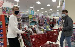 Jack Gresham and Jack Wirthlin buying toys for the Kapco Kids2Kids Toy Drive.