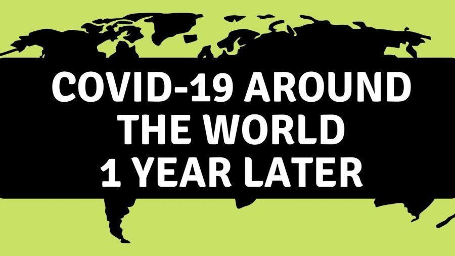 Students internationally share their COVID-19 stories (1 Year Later)