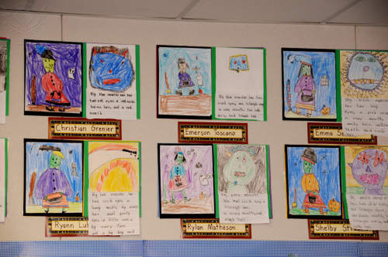 Homestead students' artwork submissions for the Homestead Gallery Walk will be displayed soon.
