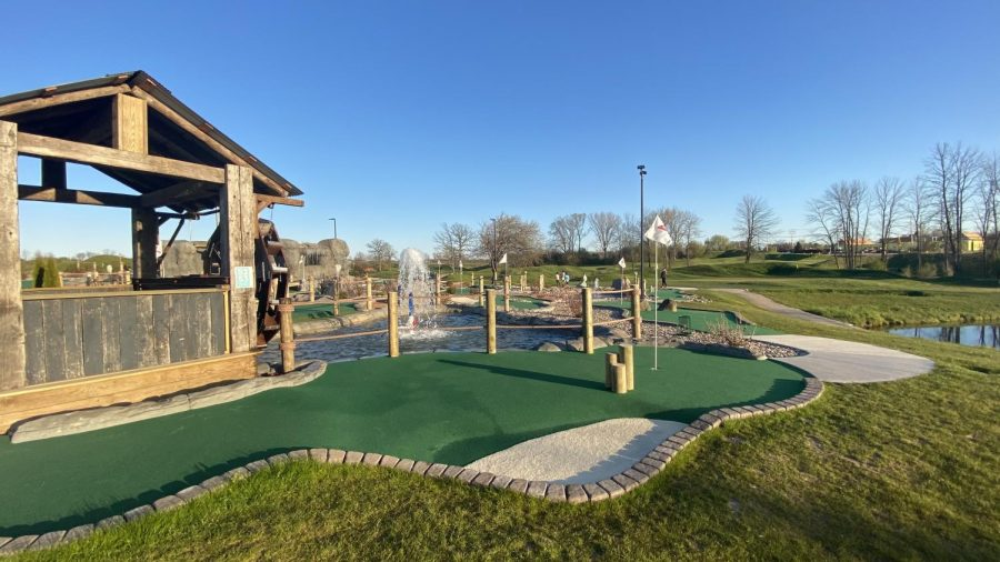 The newly built mini-golf course at Missing Links in Mequon will host the event on Friday.