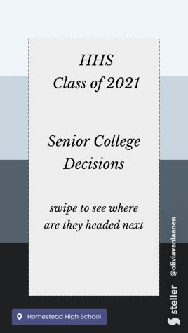 Seniors Commit to College- Decision Day 2021