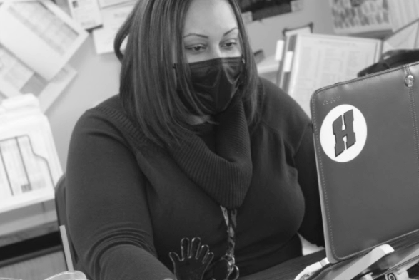 """Monique Porter, assistant principal, has dedicated so much of her time within her years at Homestead towards assisting students and staff so that they could overcome their issues. Speaking on how important it is to focus on what one can control when challenged, Porter explains how critical it is to do what you can to benefit a situation. """"When there is nothing you can do about a situation or challenge, for your own mental health and self care you have to learn to let it go and let it be,"""" Porter said."""